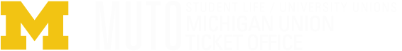 Michigan Union Ticket Office logo